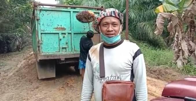 Jalan yang Diaukas TMMD Selesai, Petani Sawit di Kecamatan Basira Ucapkan Terimakasih