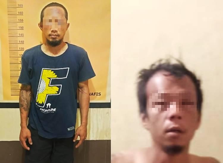 Satreskrim Polres Inhil Tangkap Dua Terduga Pencuri Sarang Walet