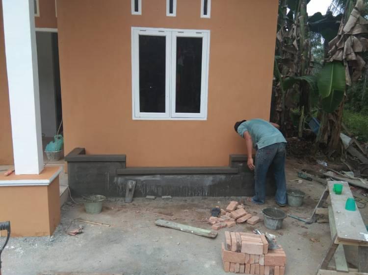 Pembangunan RLTH Program TMMD Milik Dede Anggraini Sudah Mencapai 90 Persen