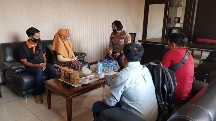 Kapolres Banjar Gandeng Penyiar Radio untuk Edukasi dan Sosialisasikan PPKM Darurat