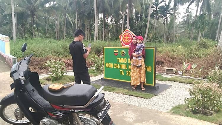Masyarakat Desa Mulai Merasakan Buah Pengabdian Satgas TMMD ke-111 Kodim 0314/lnhil