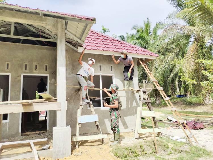 Air Mata Halimah Menetes, Setelah Dibangunkan Rumah Dalam Program TMMD Ke 111