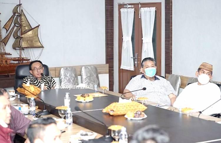 Bupati Inhil HM.Wardan Pimpin Rapat Perencanaan Mal Pelayanan Publik (MPP) dan Mal Kependudukan