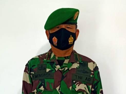 Danramil 03/Bgs Ungkapkan Bahwa Selama Pelaksanaan TMMD, Satgas dan Masyarakat Patuhi Prokes