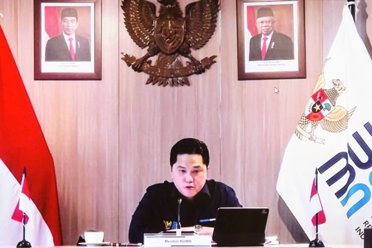 Menteri BUMN Erick Thohir Pastikan Bank Himbara Siap Dukung Penyaluran KUR di Sektor Pertanian