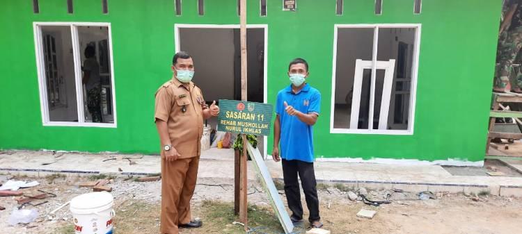 Pembangunan Mushollah Capai 95 Persen, Penghulu Bagan Sinembah Jaya Apresiasi Program TMMD