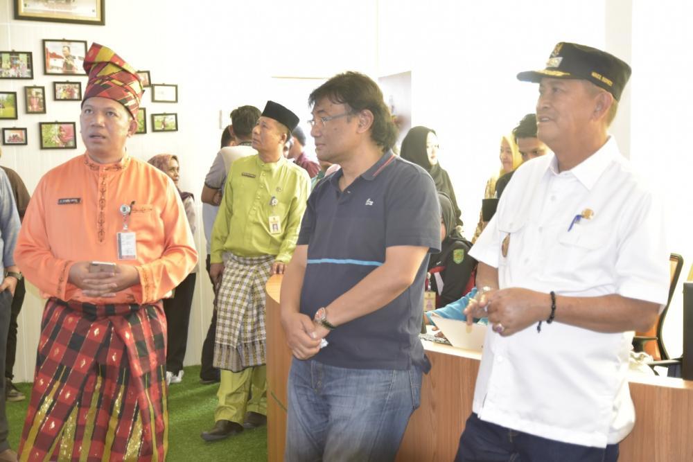 Guru Besar Fakultas Kedokteran UI Prof Dokter Joss Riono Berkunjung ke Dinas Kesehatan Inhil