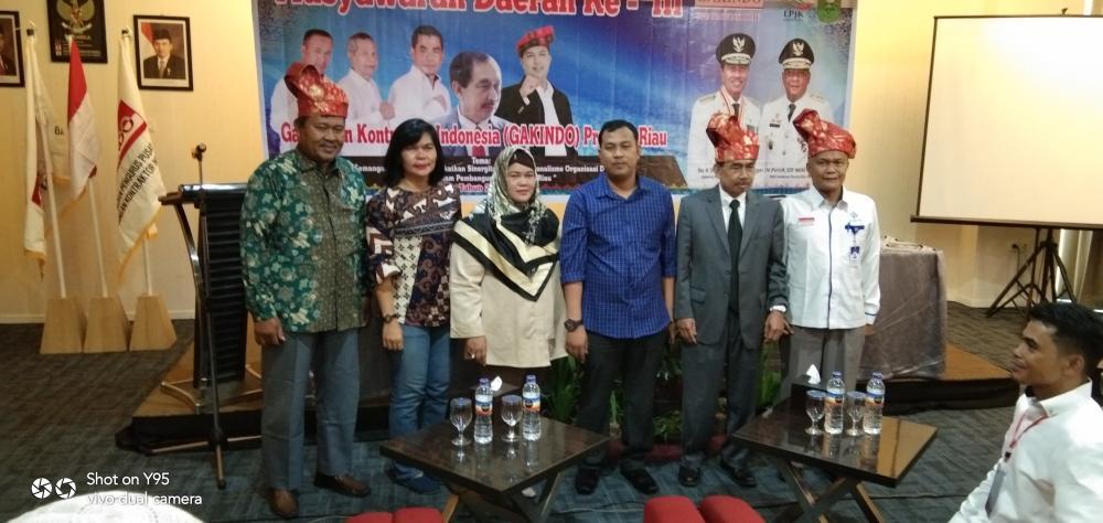 Musda III Gabungan Kontraktor Indonesia Propinsi Riau