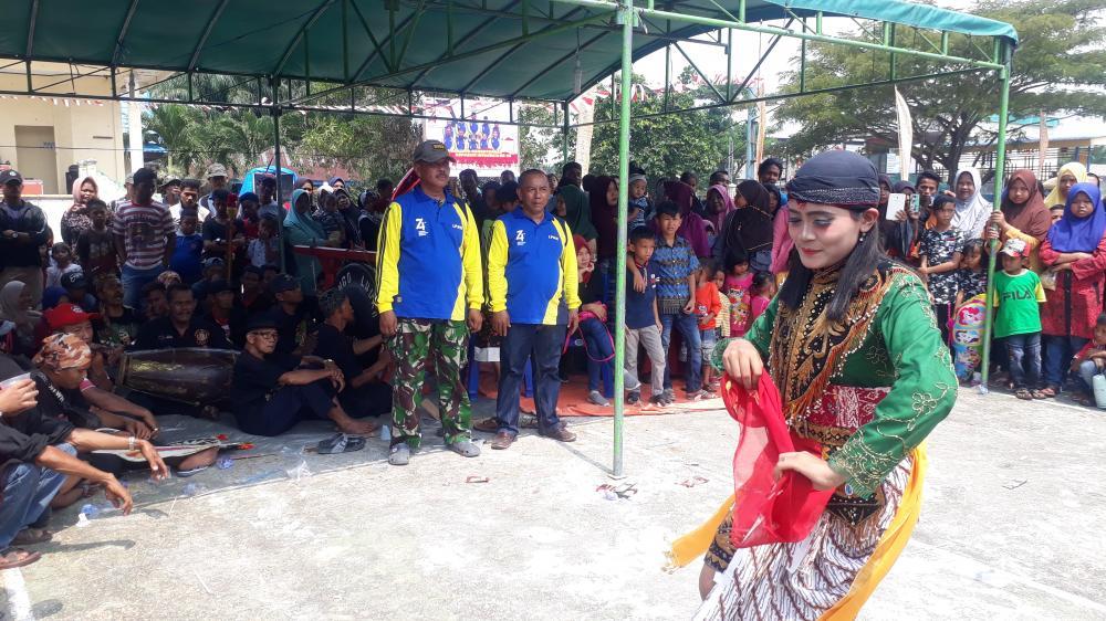 Meriahkan HUT RI,Ke 74 LPMK Kelurahan  Batu panjang  Gelar lomba Permainan Rakyat