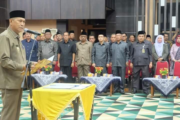 Wakil Bupati H Syamsuddin Uti Melantik 84 Pejabat Di Lingkungan Pemerintah Kabupaten Indragiri Hilir