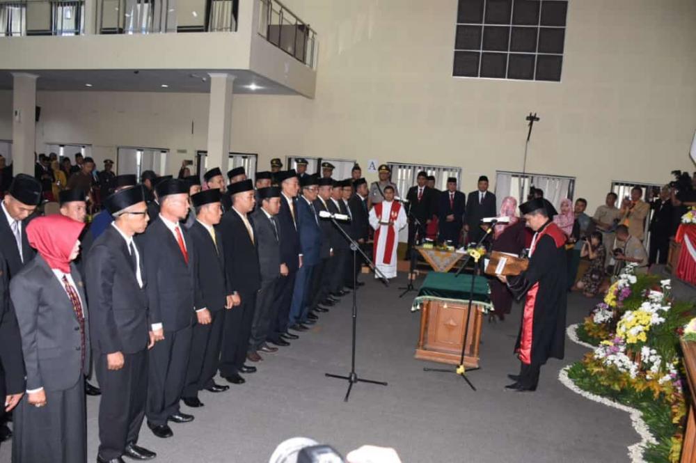 30 Anggota DPRD Kota Banjar Resmi Dilantik