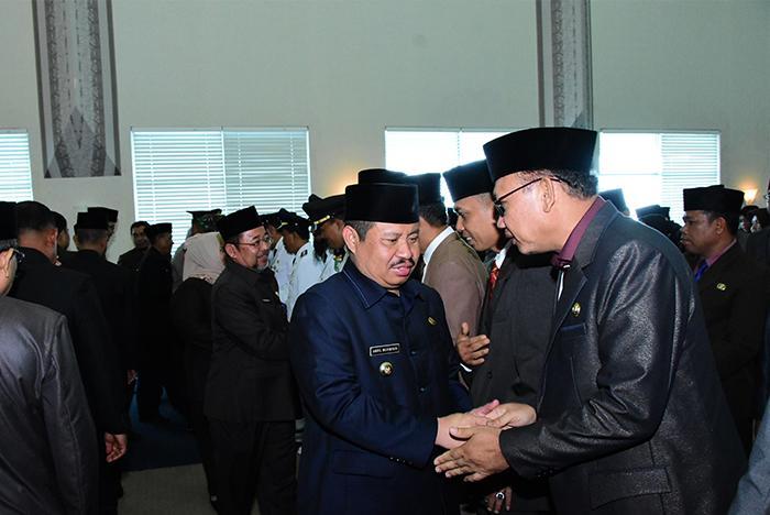 Bupati Bengkalis melantik 48 Pejabat Administrator dan 89 Pejabat Pengawas.