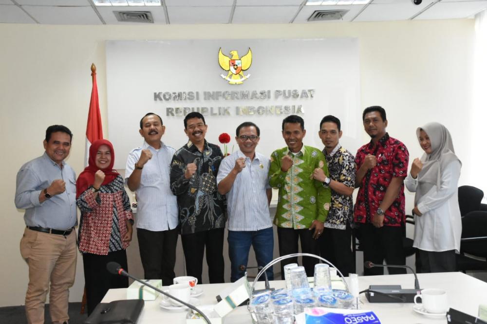 KI Riau Konsultasi ke KI Pusat, Usul Kampar Tuan Rumah HKIN 2020