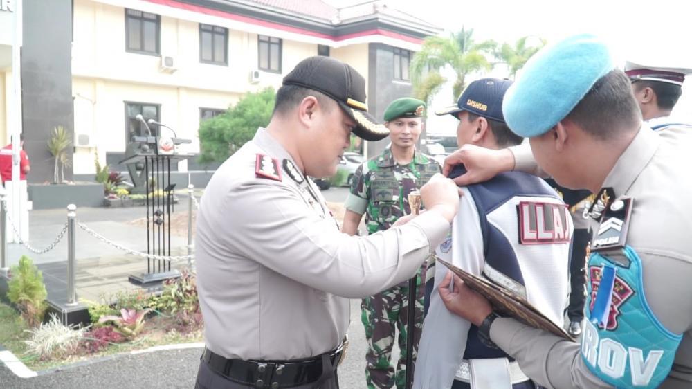 Kapolres Banjar Pimpin apel gelar pasukan Operasi Patuh Lodaya 2019