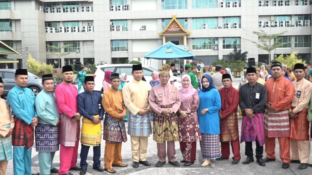 Peringatan Hari Jadi Riau Ke - 62, Bupati Inhil: Kebudayaan Melayu Sebagai Pilar Penopang Kebudayaan Nasional