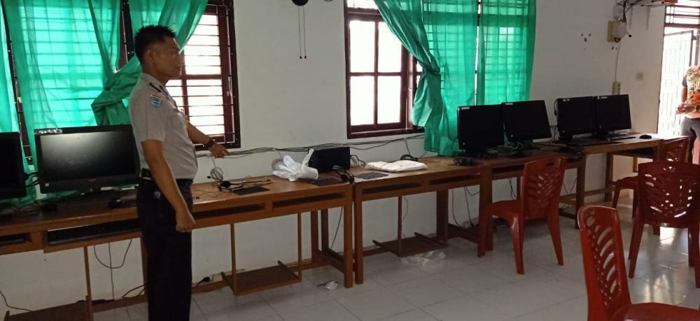 Maling Kembali Bobol Sekolah ini, 4 unit Komputer Raib