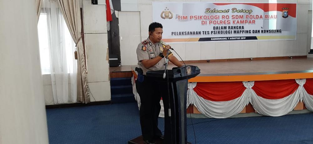 Ditlantas Polda Riau adakan Penilaian Program Quick Wins di Satpas SIM Polres Kampar