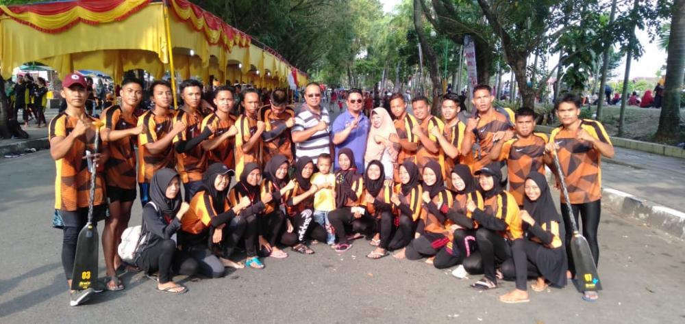 Festival Dragon Boat International di Sumbar, Kontingen Inhil Melaju Kebabak Final
