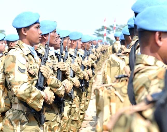 Bravo! TNI Sukses Tangkap Puluhan Pemberontak dalam Tugas di Negara Asing