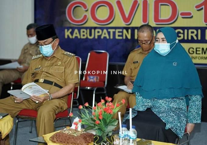 Bupati HM Wardan Vidcon Dengan Mendes PDTT Soal  Kebiasaan Tatanan Baru