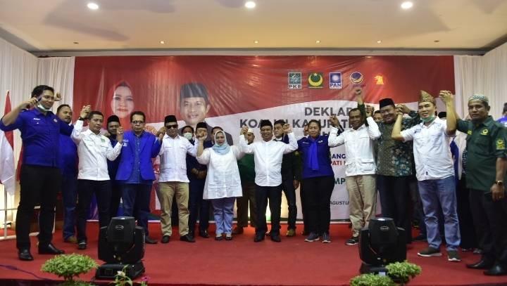 KBS Gelar Deklarasi Koalisi  Suasana Permuan Berlansung Meriah
