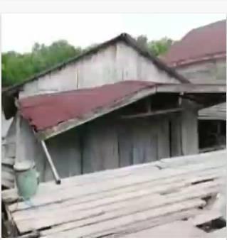 Video Detik Detik Tanah Lonsor Di Tanah Merah Inhil