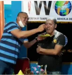 Momen Menegangkan dan Mengharukan Pada Ulang Tahun IWO Ke 8 Di Kab Inhil