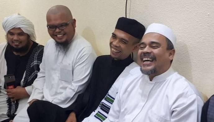 Habib Rizieq Dan Ustad Abdul Somad Tidak Ada Ambisi Untuk Capres 2024