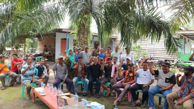 Tapal Batas Tak Jelas Bacalon Wabup Bagus Santoso Temui Warga Desa Bandar Jaya