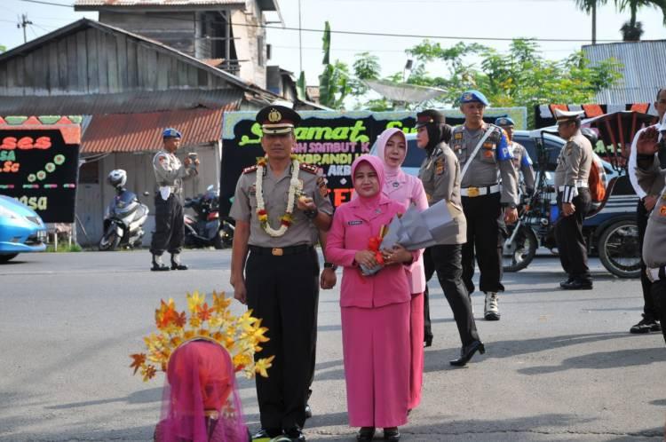 Kapolres Langsa Temu Ramah Bersama Warga dan Pimred SKU News Citra Aceh