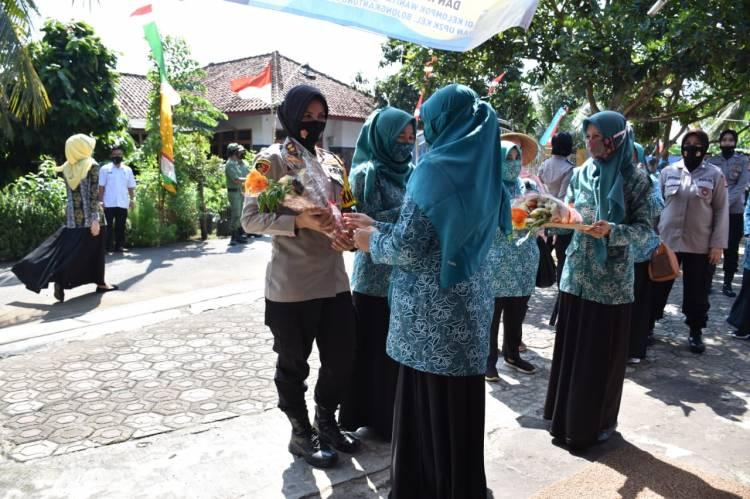 Rutin, Kapolres Banjar Kembali Kunjungi KWT dan UMKM di Wilayah Langensari