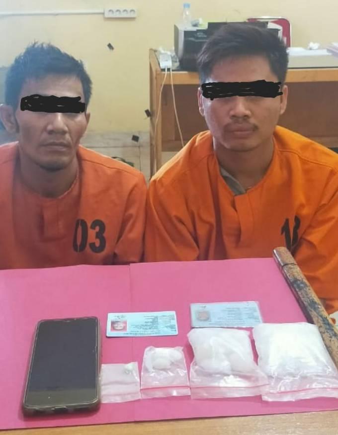 Opsnal ResNarkoba Polres Pelalawan, Ringkus Dua Orang Pengedar di HUT Kemerdekaan Republik Indonesia