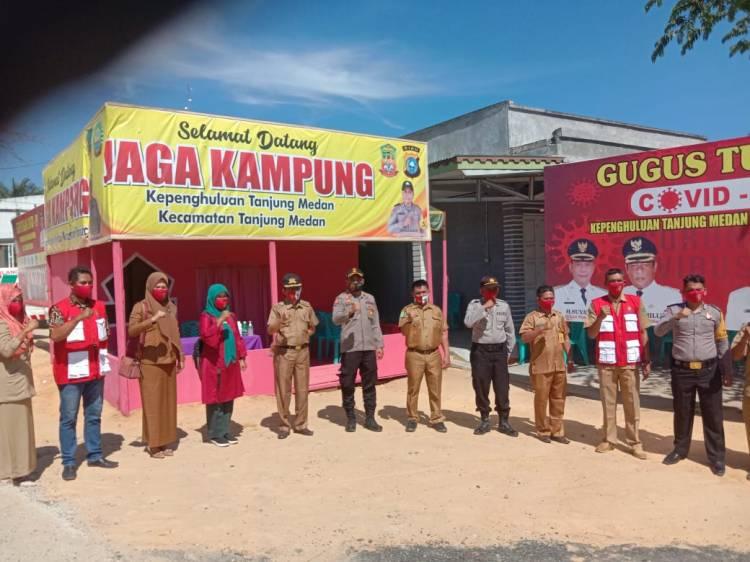 Polsek Pujud Launching Gerakan Jaga Kampung di Kepenghuluan Tanjung Medan, ini Kata Kapolsek..