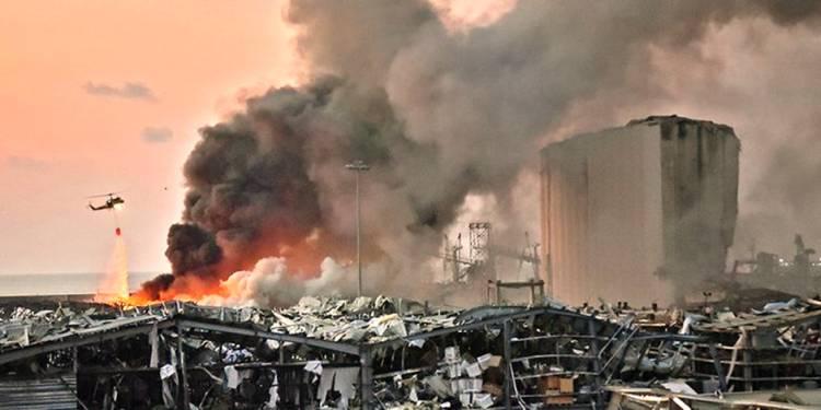 Ngeri, Ledakan di Beirut Setara Ledakan Ratusan Ton TNT dan Hasilkan Gempa Kecil