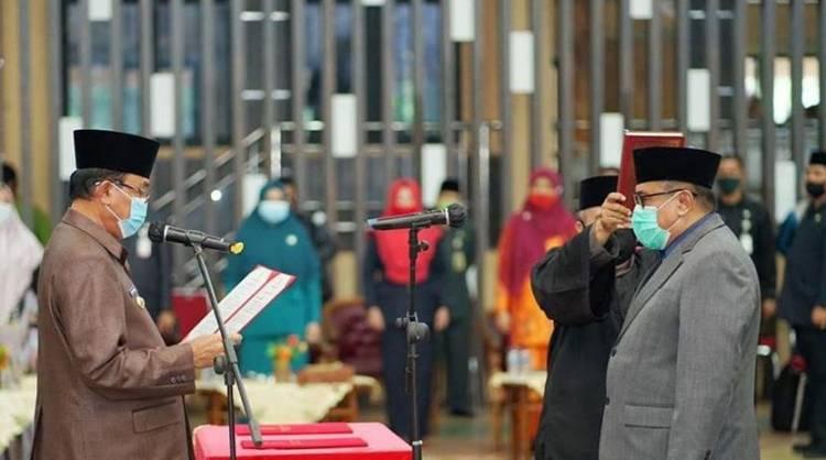 Fauzar Resmi Gantikan Said Syarifuddin Sebagai Penjabat Sekda Inhil