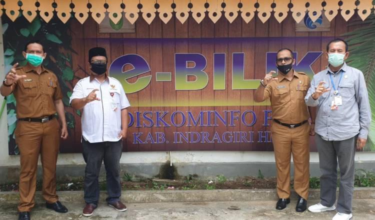 KI Riau Visitasi ke Diskominfopers Inhil
