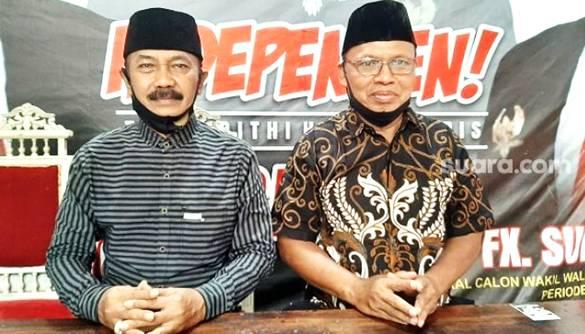 Tukang Jahit dan Pak RW Resmi jadi Penantang Gibran di Pilkada Solo, Konspirasi?