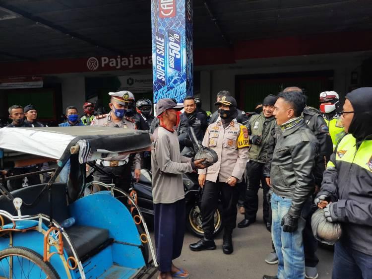 Patroli Gabungan TNI Polri, Jamin Wilayah Hukum Polres Banjar Kondusif