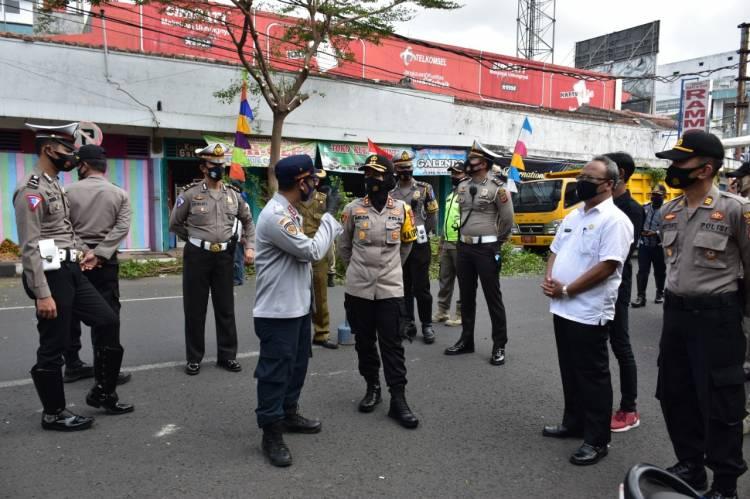 Kapolres Banjar : Kawasan Letjen Suwarto Kota Banjar Harus Tertib dan Rapi