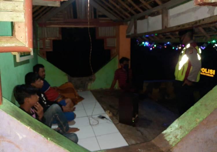 Jaga Kondusifitas Situasi, Personil Patroli Polres Banjar dan Polsek Jajaran Laksanakan Patroli Malam