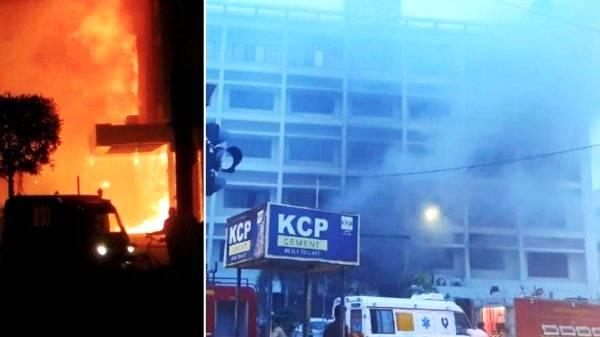 Pusat perawatan Covid-19 Terbakar, 7 Pasien Tewas Mengenaskan