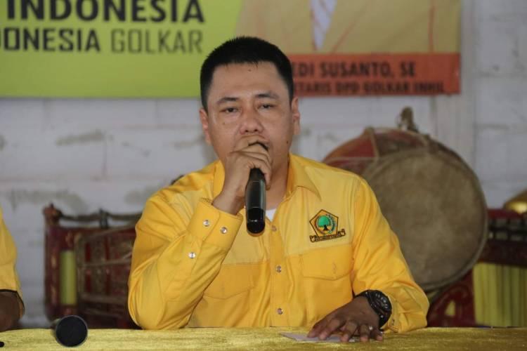 Musda X Golkar Inhil , Buka Pendaftaran Balon Ketua DPD II Inhil