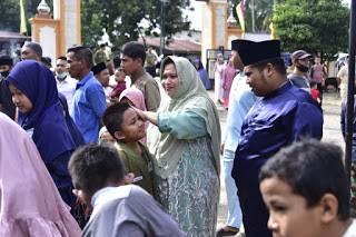 Kasmarni Laksanakan Qurban Di Masjid AT Takwa Muara Basung