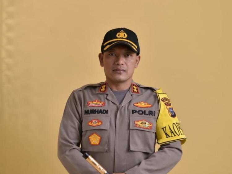 Kapolres Rohil Ucapkan Terima Kasih Kepada Seluruh Masyarakat Rohil Sukseskan Program Jaga Kampung Polda Riau