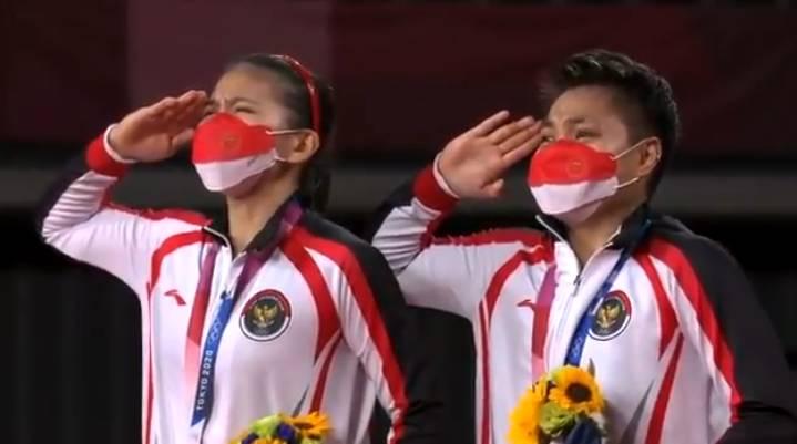 Greysia Polii dan Apriyani Peraih Medali Emas Olimpiade Tokyo 2020 Kebanjiran Hadiah Menanti