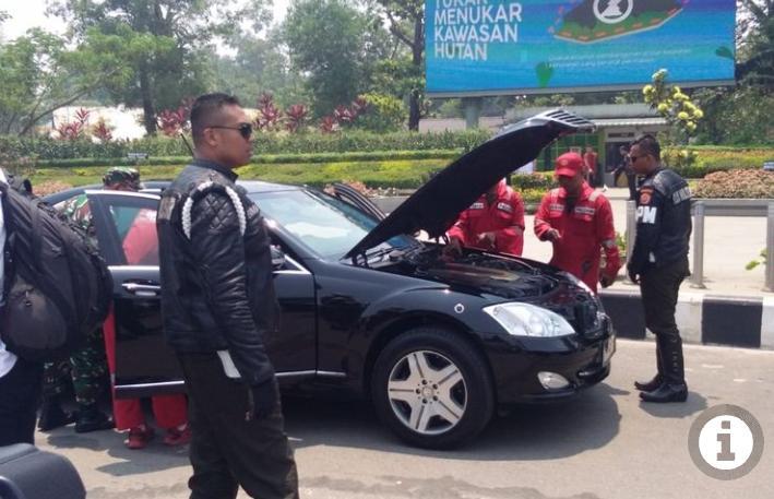 Waduh.. Mobil Dinas Jokowi 2 Kali Mogok di Kalimantan