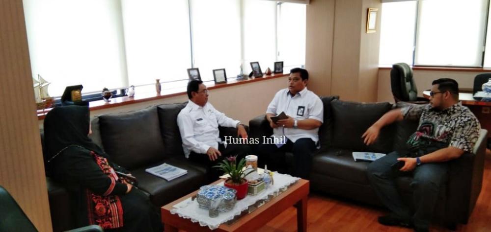 Bupati HM.Wardan Menyampaikan Proposal Pembangunan Pasar  di wilayah Kabupaten Indragiri Hilir ke Kementerian Perdagangan RI