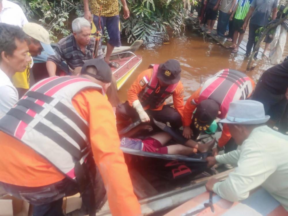 Korban Tenggelam Sudah Di Temukan Dalam Keadaan Sudah Meninggal