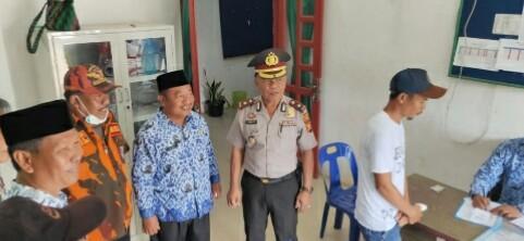 Terkait Kabut Asap, Kapolsek Bagan Sinembah Tinjau Posko Pelayanan Kesehatan Gratis di Puskesmas Balai Jaya