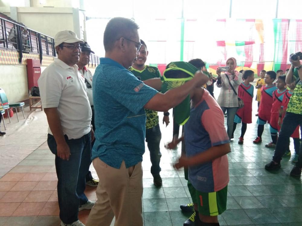 Kadis Parporabud Inhil, Junaidi Ismail, Sangat Mengapresiasi Terobosan Yang Dilakukan Manajemen Indovizka Futsal Academy